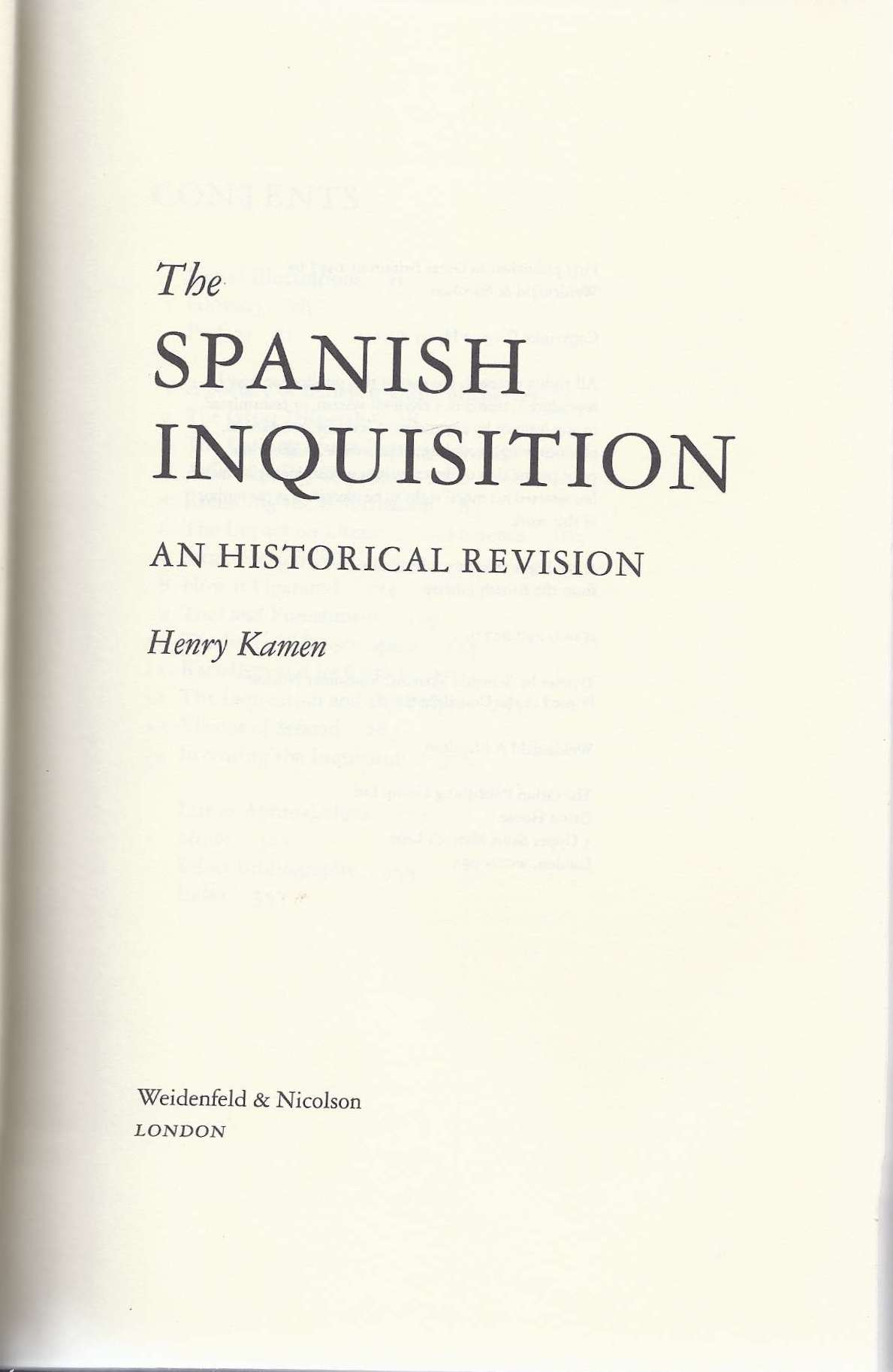 history of the spanish inquisition essay